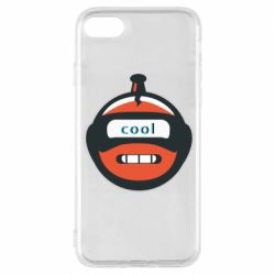 Чохол для iPhone 8 Robot with the word cool