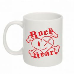 Кружка 320ml Rock Heart - FatLine