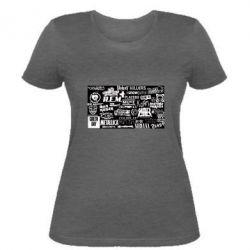 Жіноча футболка Роck logo