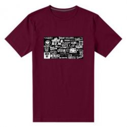 Чоловіча стрейчева футболка Роck logo