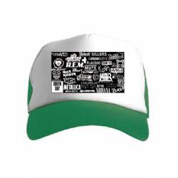 Дитяча кепка-тракер Роck logo