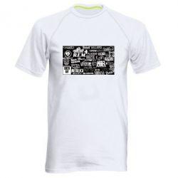 Чоловіча спортивна футболка Роck logo