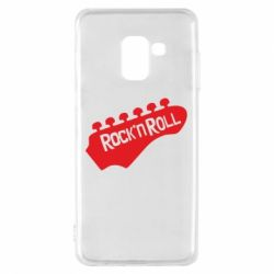 Чехол для Samsung A8 2018 Rock n Roll - FatLine