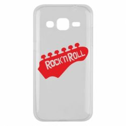 Чехол для Samsung J2 2015 Rock n Roll - FatLine