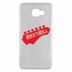 Чехол для Samsung A7 2016 Rock n Roll - FatLine