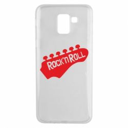 Чехол для Samsung J6 Rock n Roll - FatLine