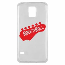 Чехол для Samsung S5 Rock n Roll - FatLine