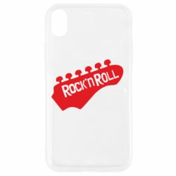 Чехол для iPhone XR Rock n Roll - FatLine