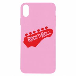 Чехол для iPhone Xs Max Rock n Roll - FatLine