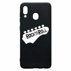 Чехол для Samsung A20 Rock n Roll