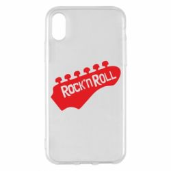 Чехол для iPhone X Rock n Roll - FatLine