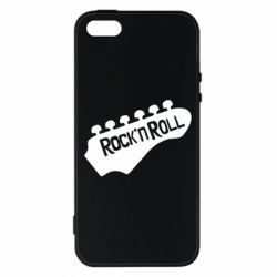 Чехол для iPhone5/5S/SE Rock n Roll - FatLine