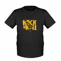 Детская футболка Rock&Roll - FatLine