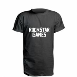 Подовжена футболка Rock star games