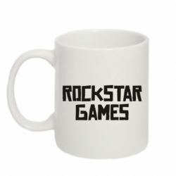 Кружка 320ml Rock star games