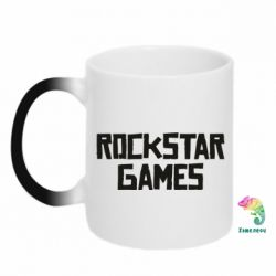 Кружка-хамелеон Rock star games