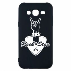 Чохол для Samsung J5 2015 Rock star gesture
