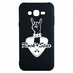 Чохол для Samsung J7 2015 Rock star gesture