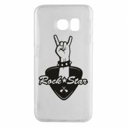 Чохол для Samsung S6 EDGE Rock star gesture
