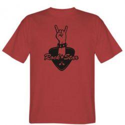 Чоловіча футболка Rock star gesture