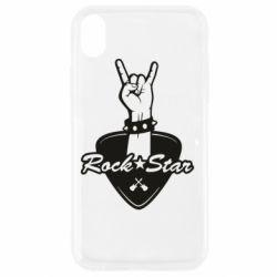 Чохол для iPhone XR Rock star gesture