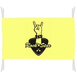 Прапор Rock star gesture
