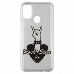 Чохол для Samsung M30s Rock star gesture