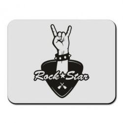 Килимок для миші Rock star gesture