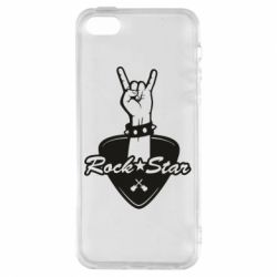 Чохол для iphone 5/5S/SE Rock star gesture