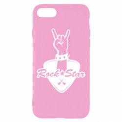 Чохол для iPhone 8 Rock star gesture
