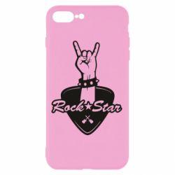 Чохол для iPhone 8 Plus Rock star gesture