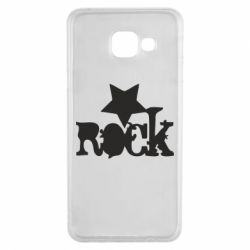 Чехол для Samsung A3 2016 rock star - FatLine