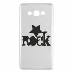 Чехол для Samsung A7 2015 rock star - FatLine
