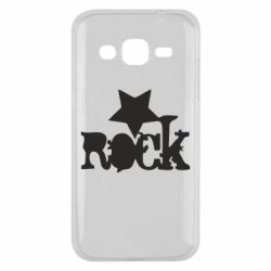 Чехол для Samsung J2 2015 rock star - FatLine