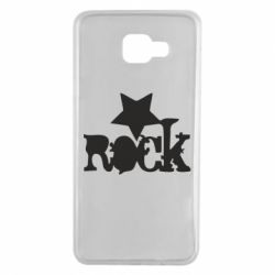 Чехол для Samsung A7 2016 rock star - FatLine