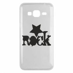 Чехол для Samsung J3 2016 rock star - FatLine