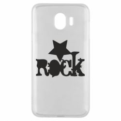 Чехол для Samsung J4 rock star - FatLine