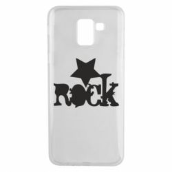 Чехол для Samsung J6 rock star - FatLine