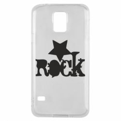 Чехол для Samsung S5 rock star - FatLine