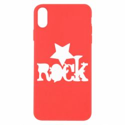 Чехол для iPhone X rock star - FatLine