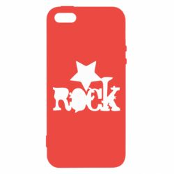 Чехол для iPhone5/5S/SE rock star - FatLine