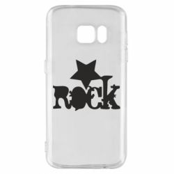 Чехол для Samsung S7 rock star - FatLine