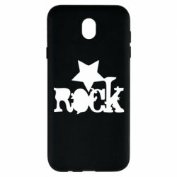 Чехол для Samsung J7 2017 rock star - FatLine