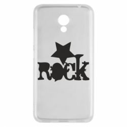Чехол для Meizu M5c rock star - FatLine