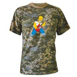 Камуфляжна футболка Rock this party!