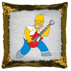 Подушка-хамелеон Rock this party!