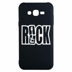 Чехол для Samsung J7 2015 Rock