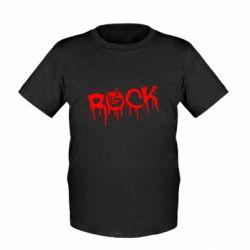 Дитяча футболка Rock