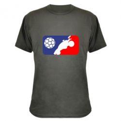 Камуфляжна футболка Rocket League blue and red