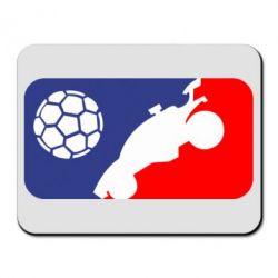 Килимок для миші Rocket League blue and red